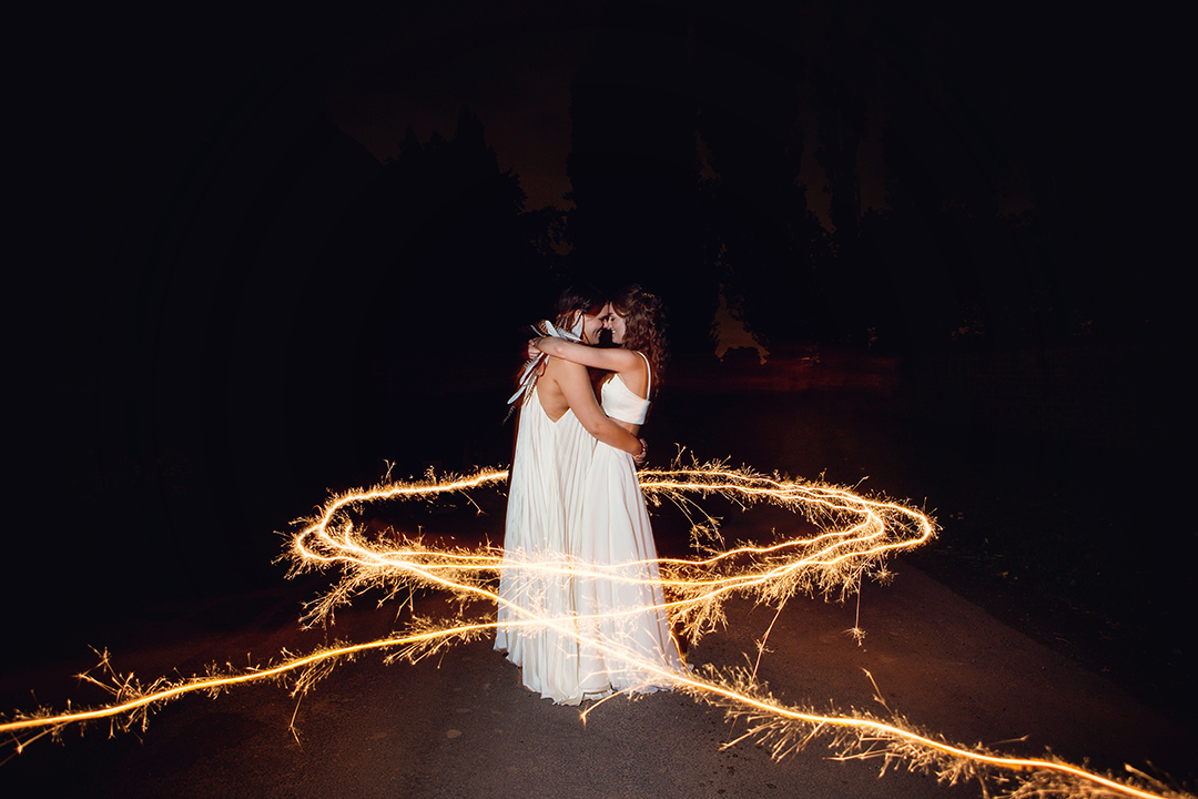 Magical moments at The Normans wedding venue. Photo by oliviabrabbs.co.uk