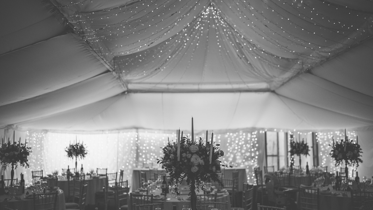 The Normans Marquee. Image courtesy of lukebellphotography.co.uk