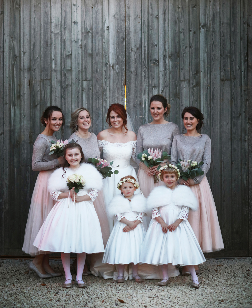 Girl Power at The Normans wedding venue. Image by www.lumiere-photographic.com