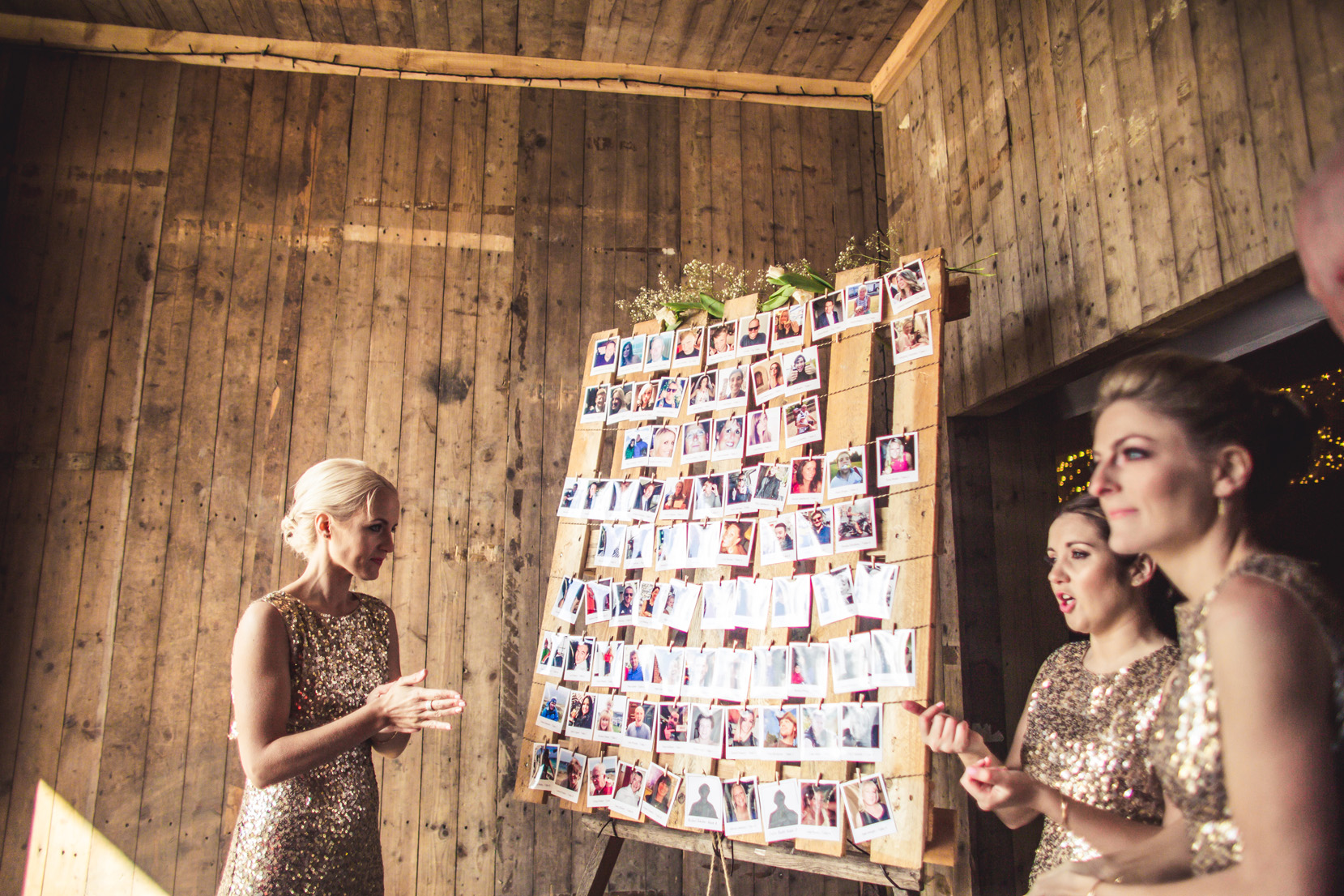 Photo Table Plan at The Normans. Photo by www.inspirephotos.co.uk