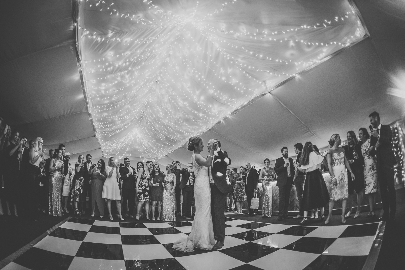 First Dance at The Normans. Photo by www.inspirephotos.co.uk