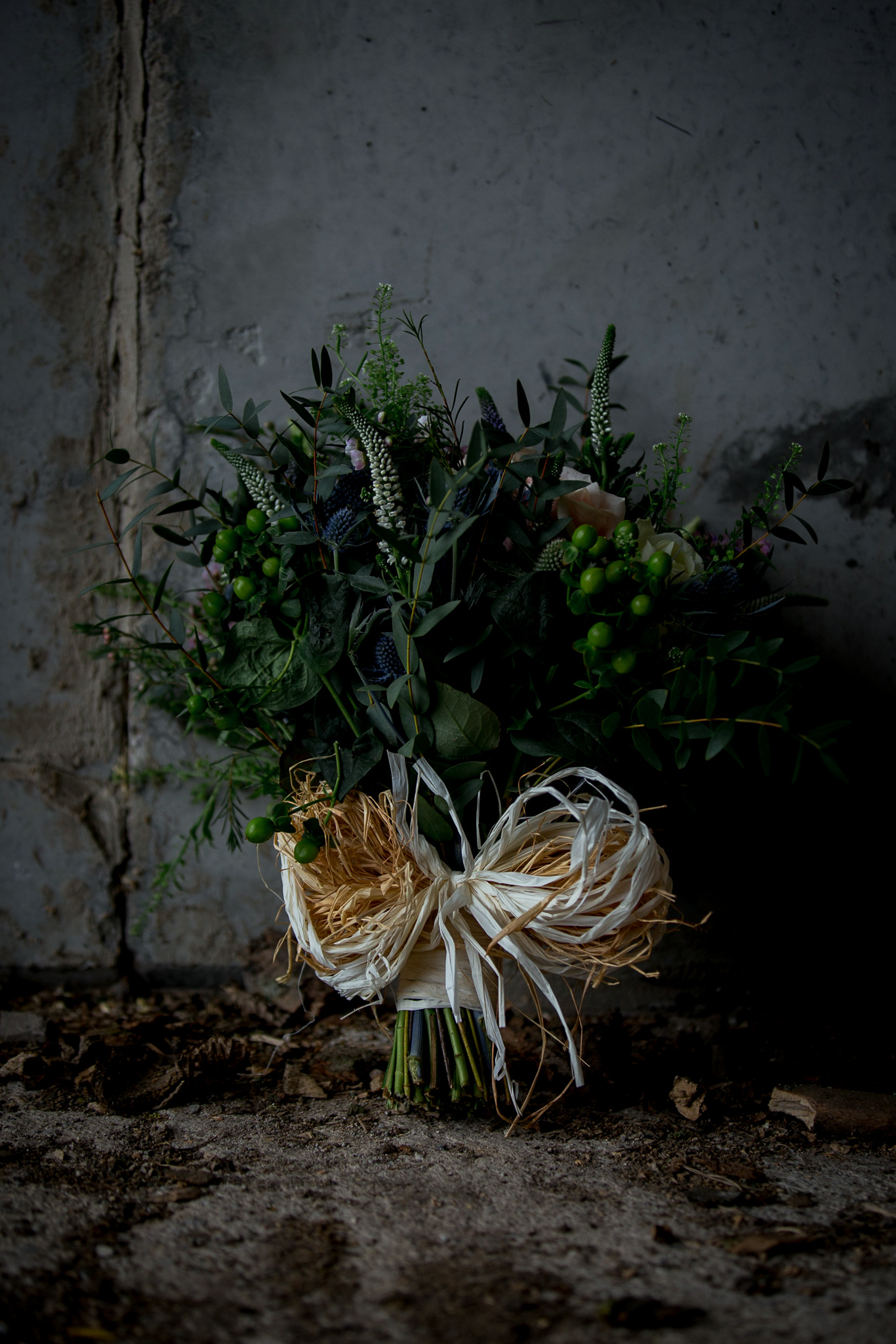 Bridal bouquet at The Normans. Photo by www.timdunk.com
