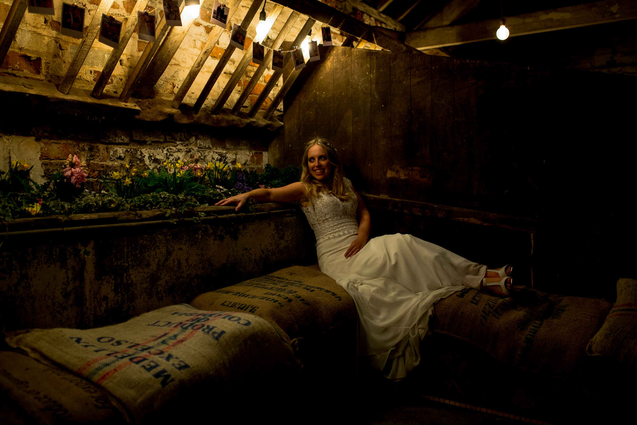 Hanging out in the Cow Stalls at The Normans. Photo by www.timdunk.com