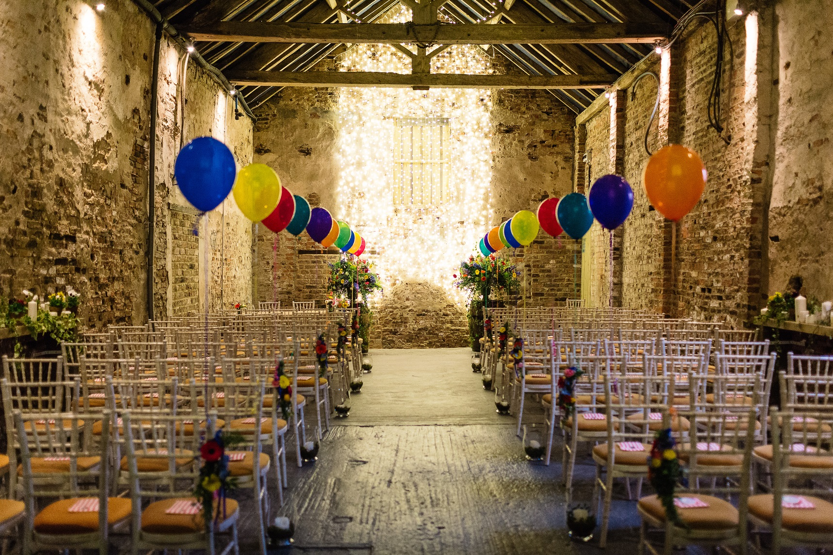 Balloon Barn at The Normans Photo by www.pauljosephphotography.co.uk