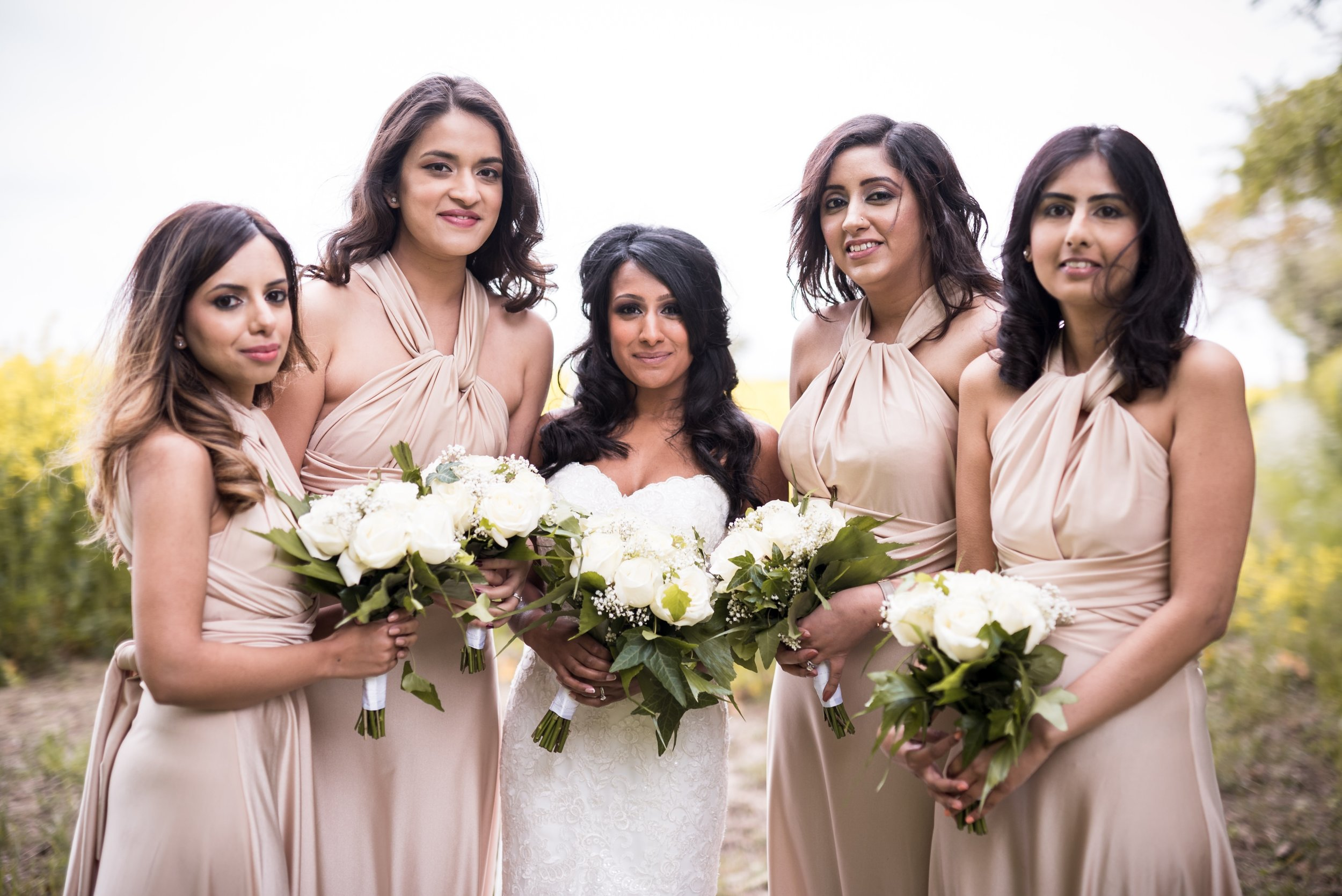 The Normans Bridal Party Photo by www.edpereira.com