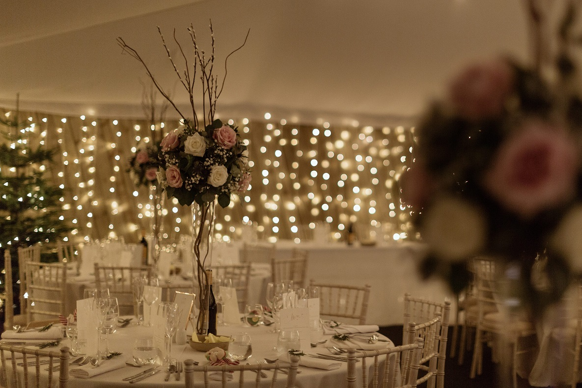 Sparkling interiors at The Normans Photo by Luke Bell Photography