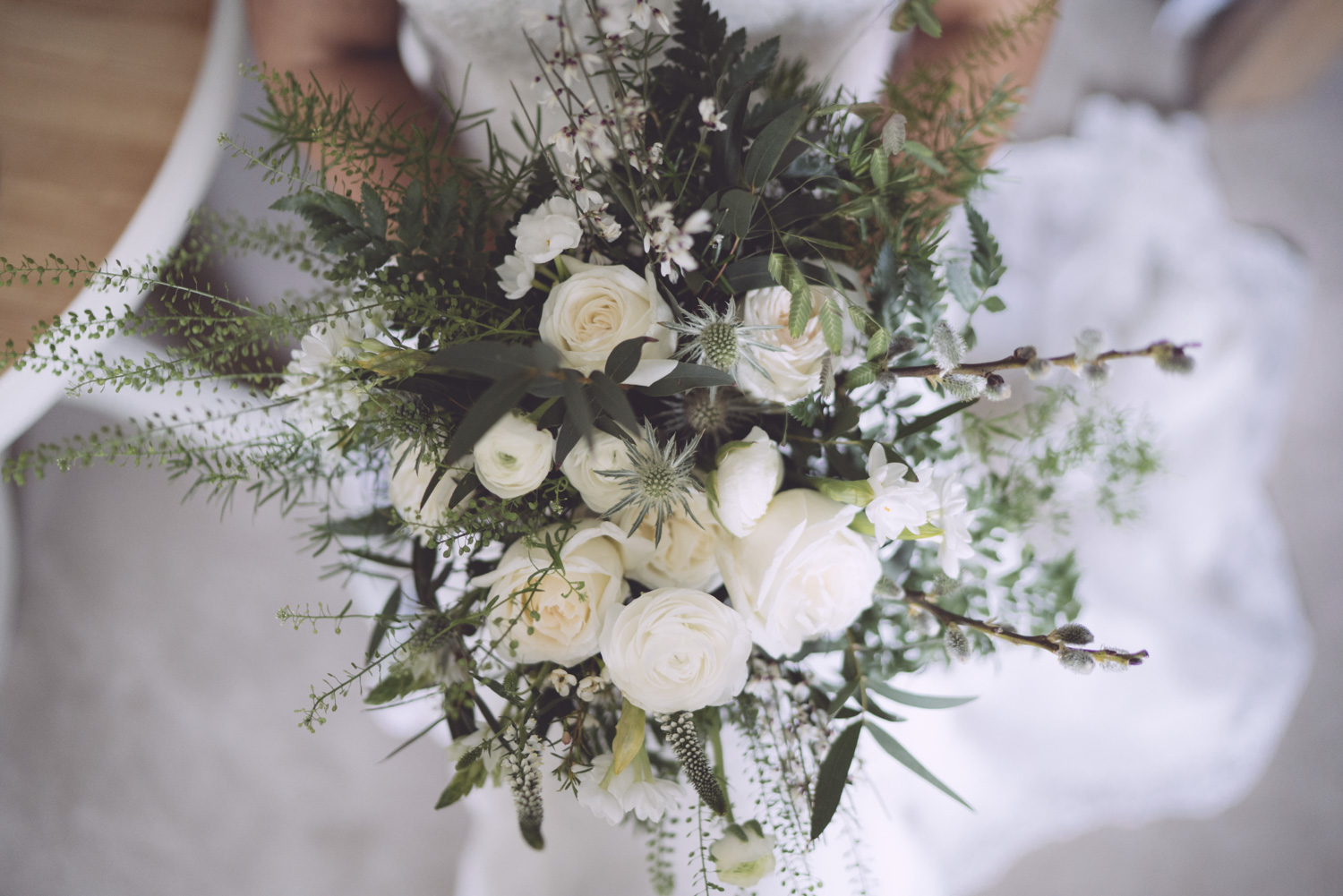 Bridal bouquet by Clock Dandelion Photo by Tim Zolte