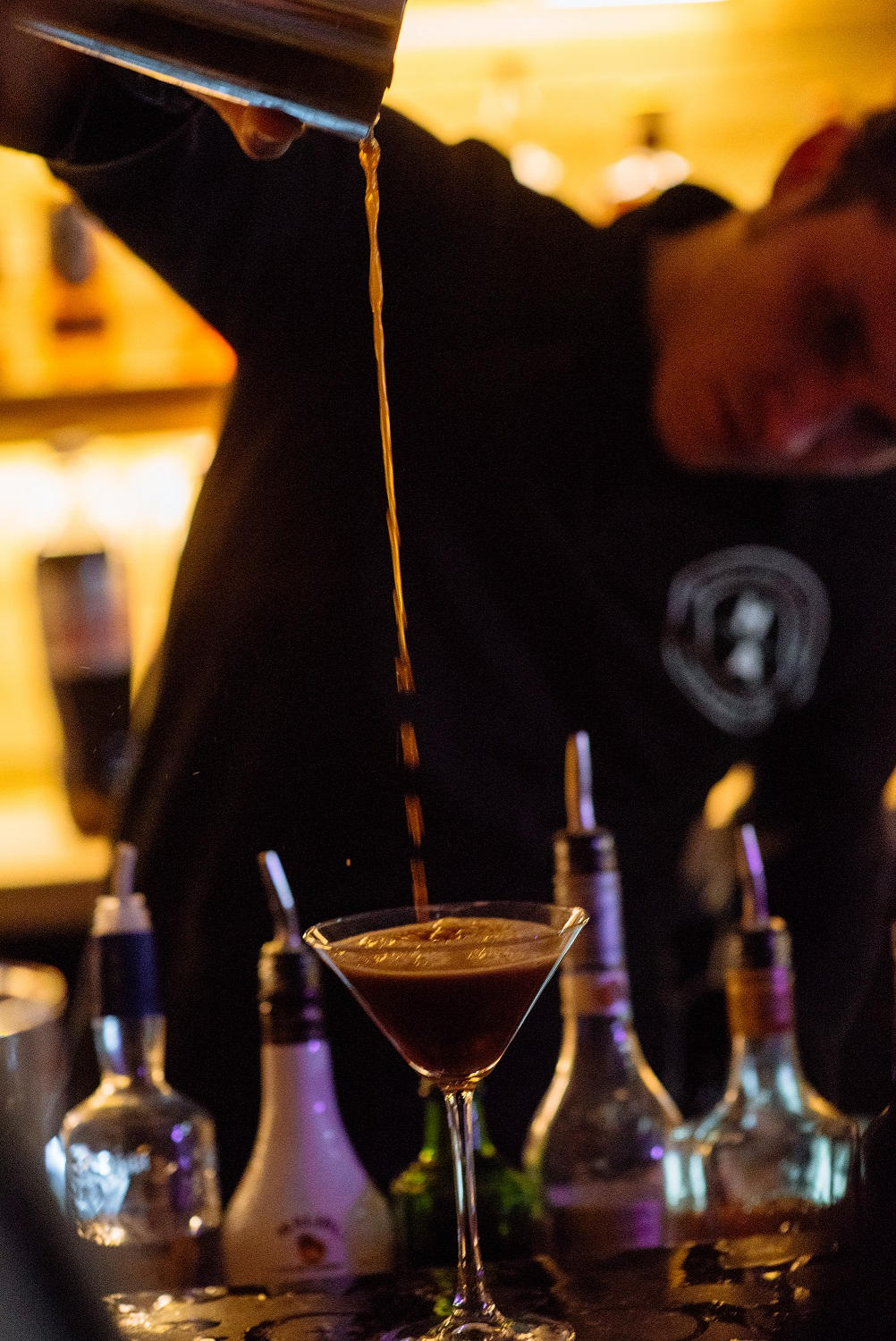 Espresso Martinis at The Normans Photo by Toast