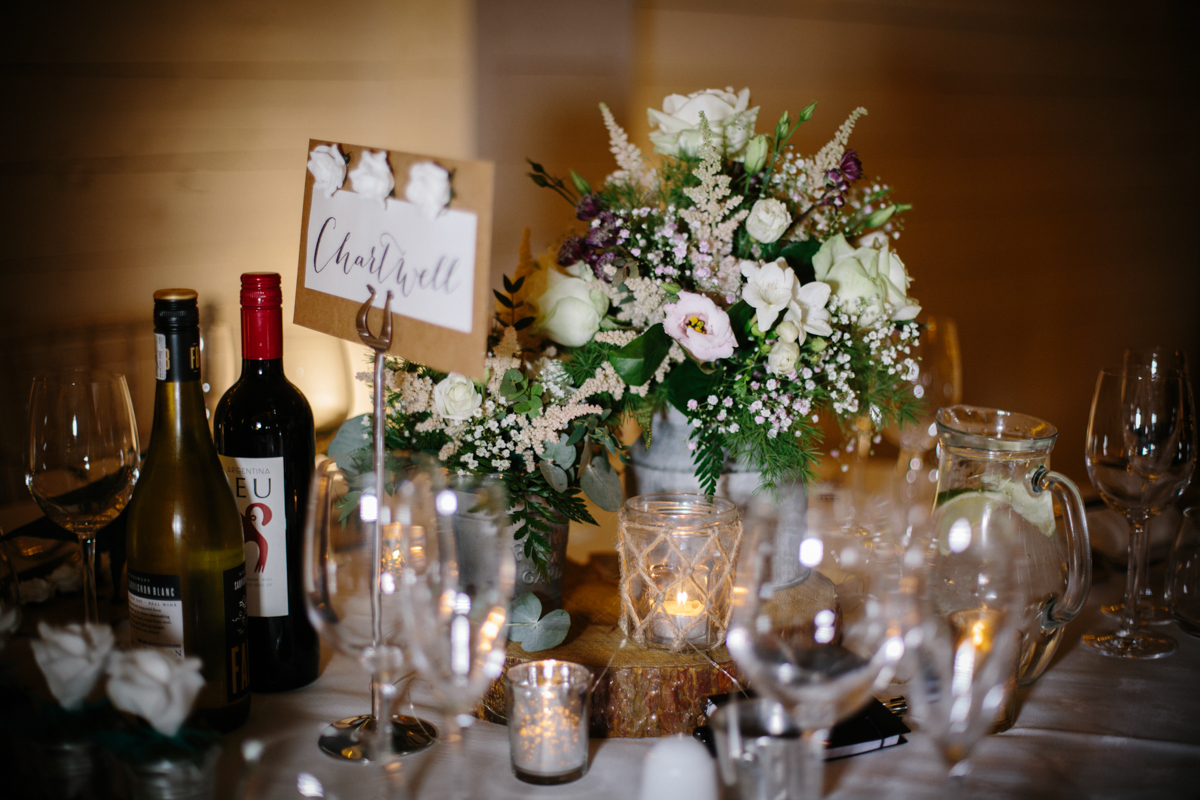 Floral touches at The Normans Photo by www.wynndaviesphotography.com