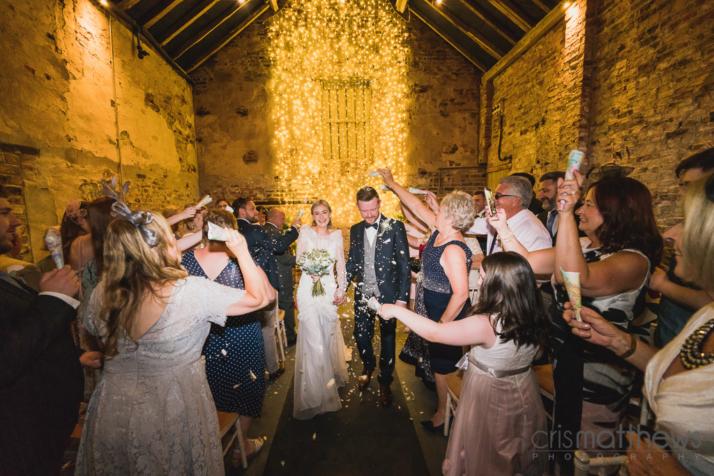 Just married at The Normans Photo by www.crismatthews.com