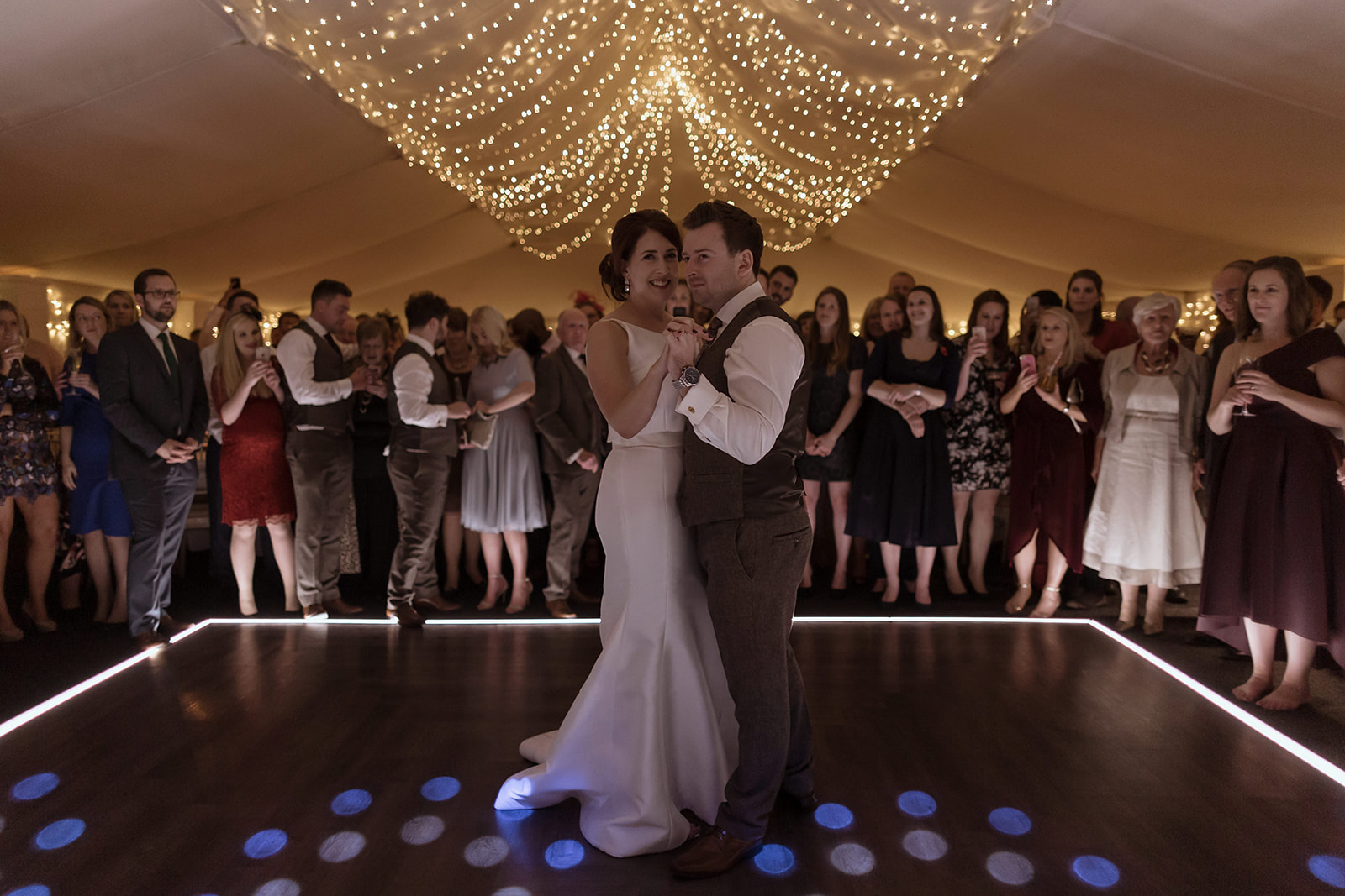 Mark and Laura take to the dance floor.jpg
