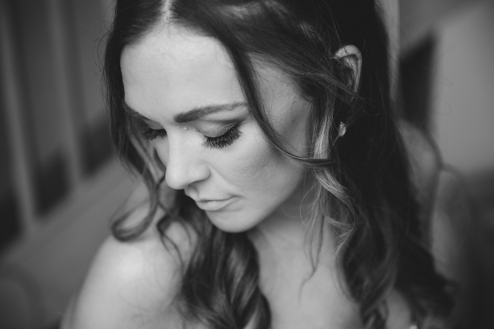 Beautiful bride Jess at The Normans
