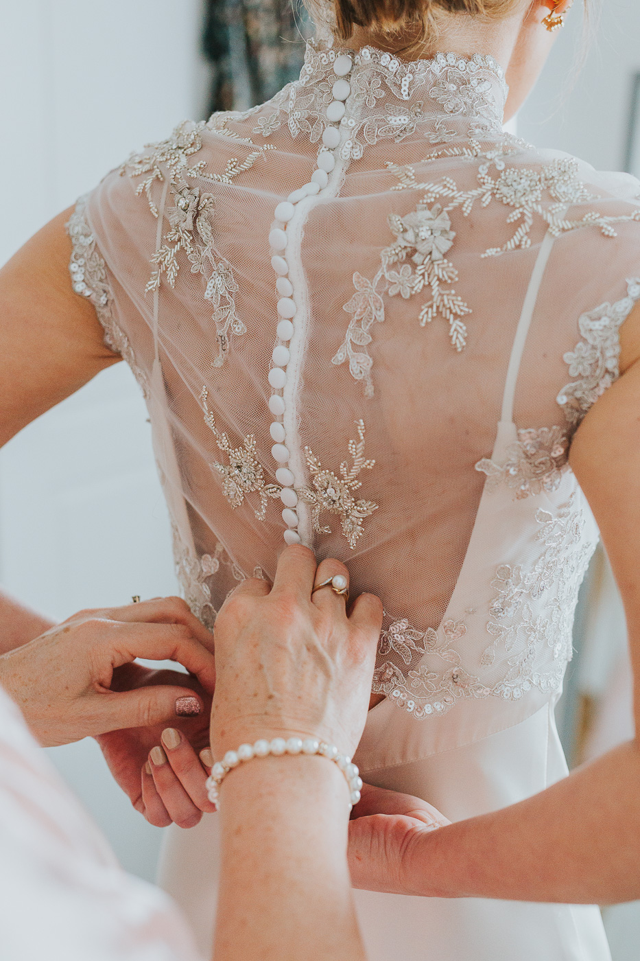Delightful details - we loved the intricate lace back of Jaimie's wedding dress.jpg