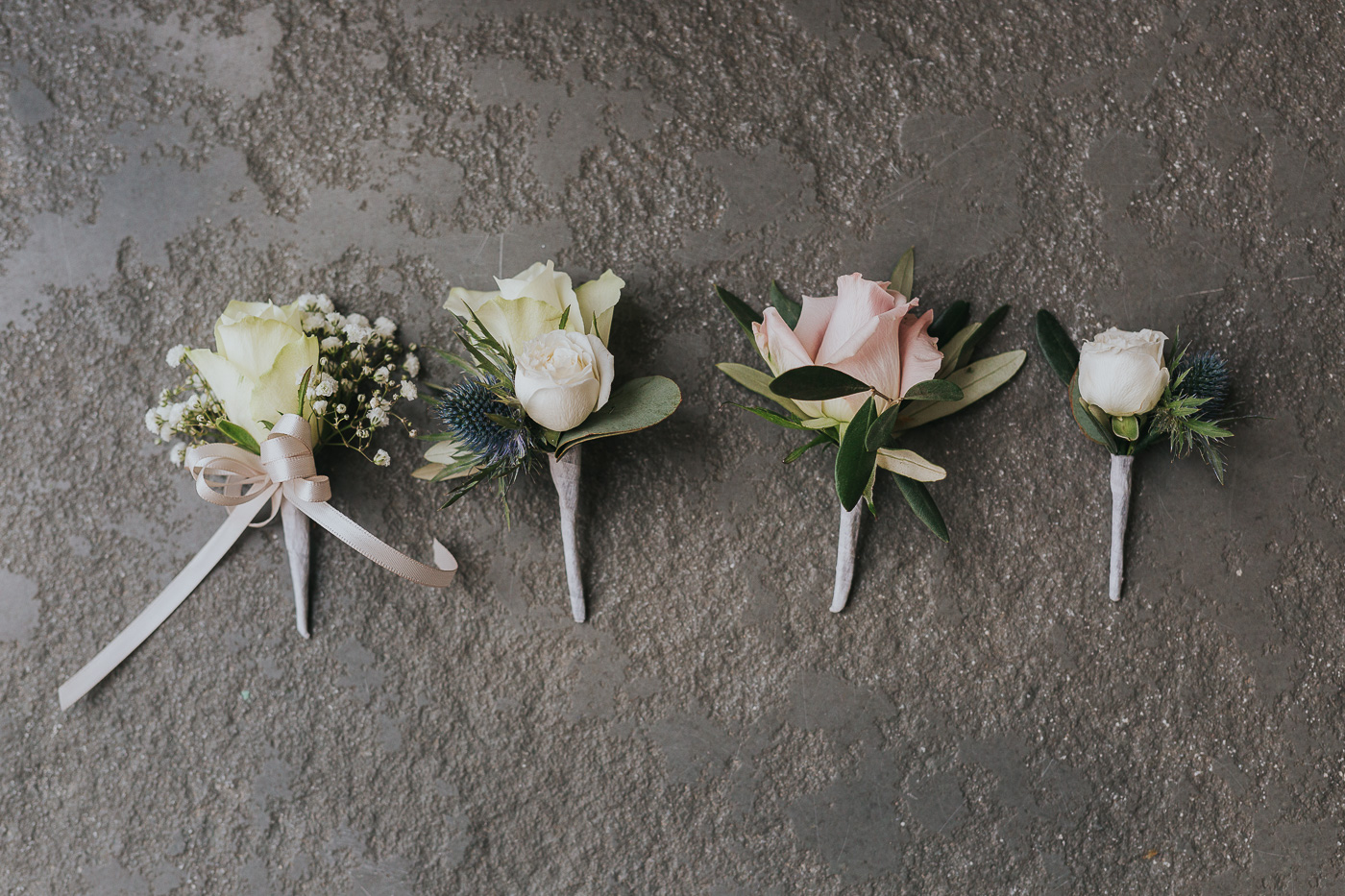 Buttonholes for Jaimie and Jez's wedding.jpg