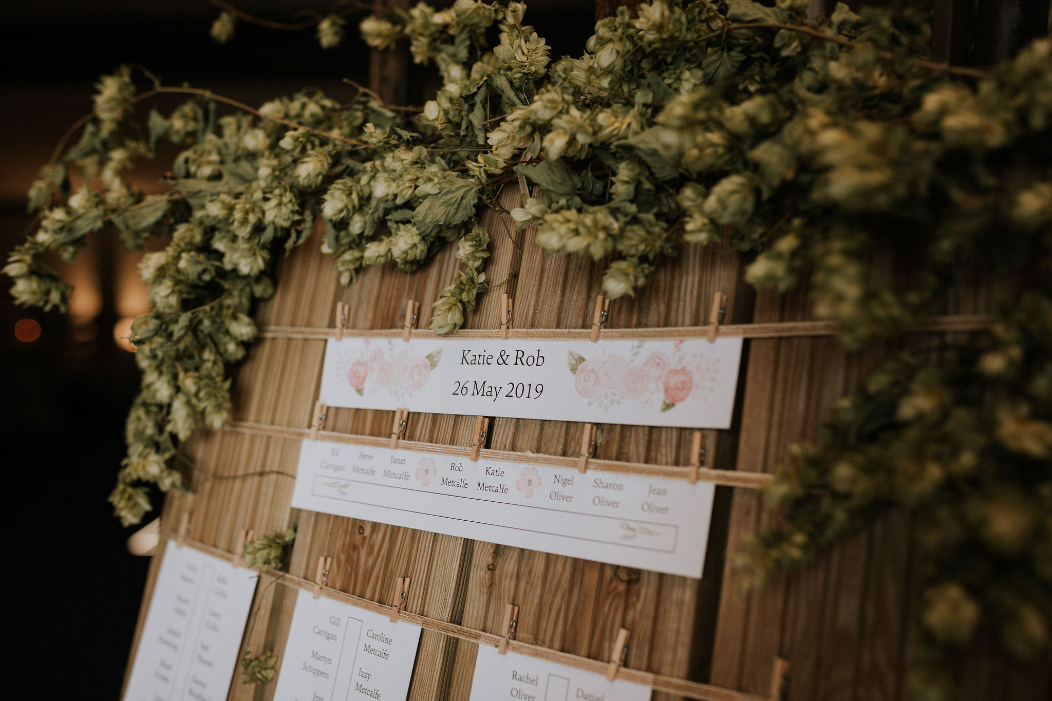 Every last detail had been covered - even the table plan was stunning.jpg