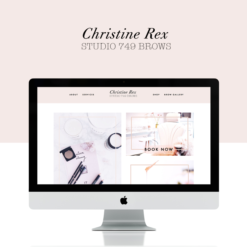 03. - YOUR DREAM WEBSITE.I work my design magic to create a custom website for your brand that reflects your style + vision. We'll wrap up with a training session to walk you through how to update your site and answer any questions.