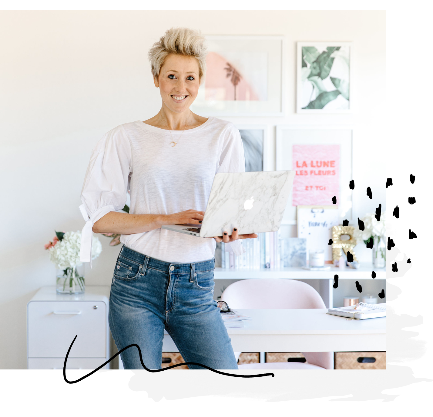 How can I help? - Whether you need a social media strategy that connects with your customers; copy to captivate your dream clients; or help designing a strategy to launch and reinvent your brand, I can help!Right this way…