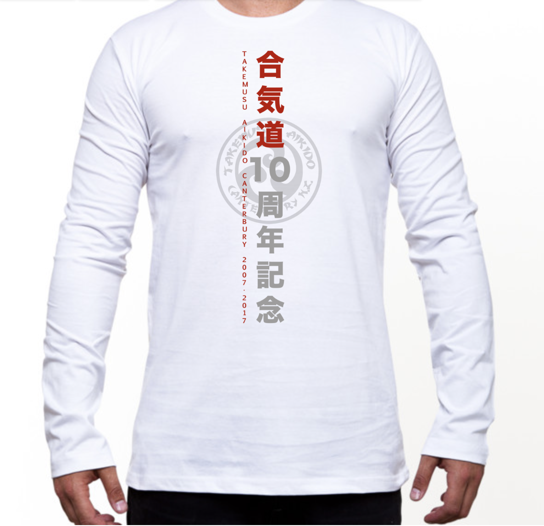 White LS T-Shirt