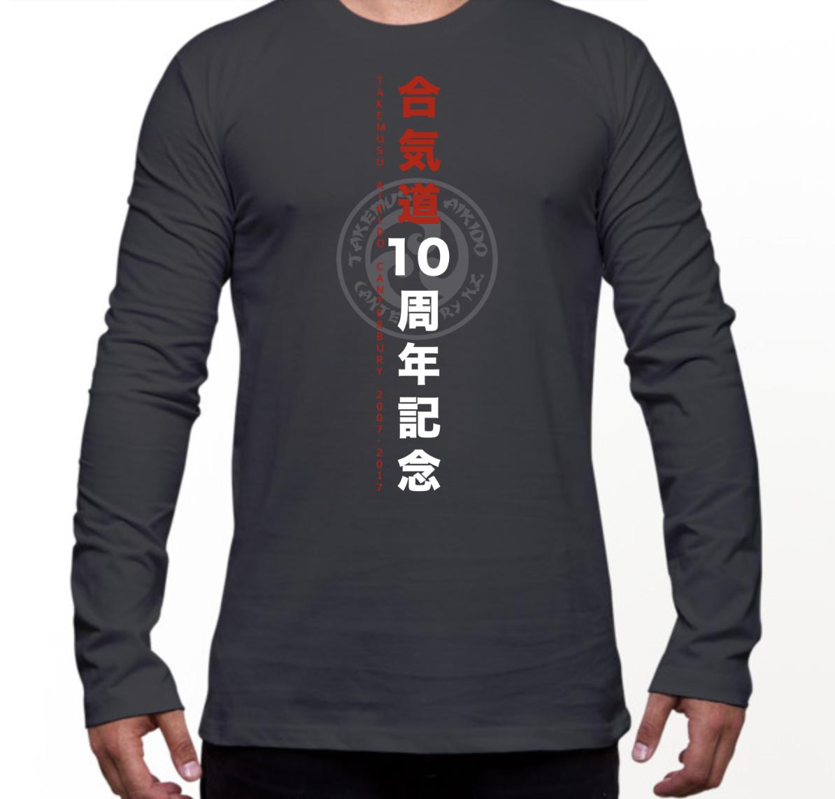 Charcoal LS T-Shirt
