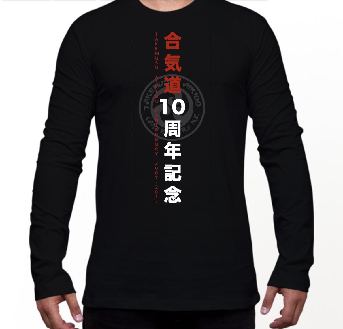 Black LS T-Shirt