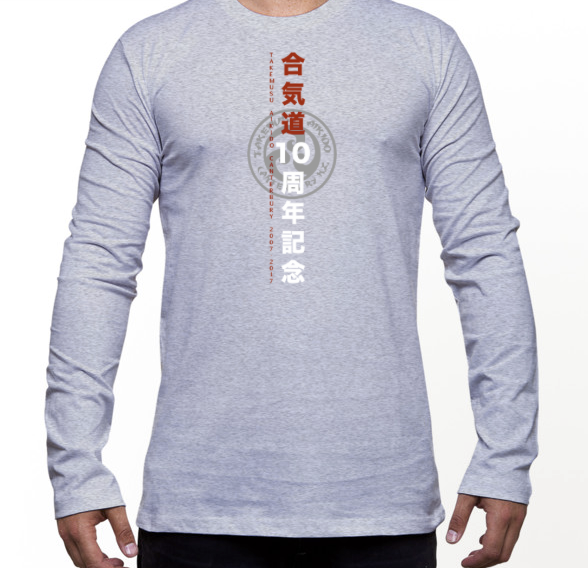 Grey Marle LS T-Shirt only available in S,M,L