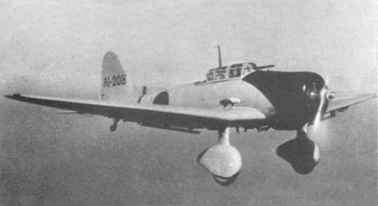 D3A-1 'VAL' dive-bomber