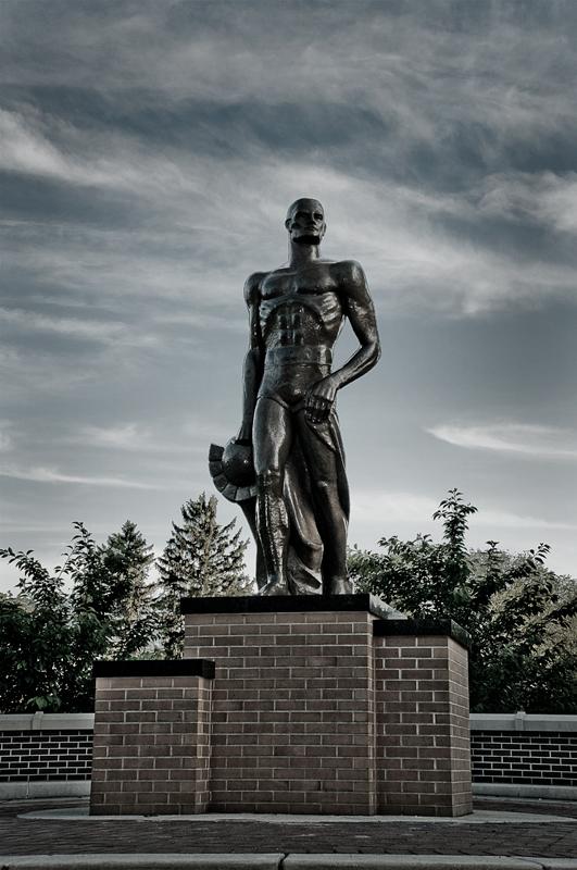 MSU Spartan Statue 2008