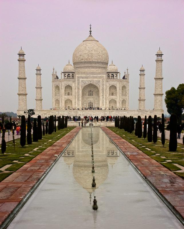 Original JPEG Image: Taj Mahal