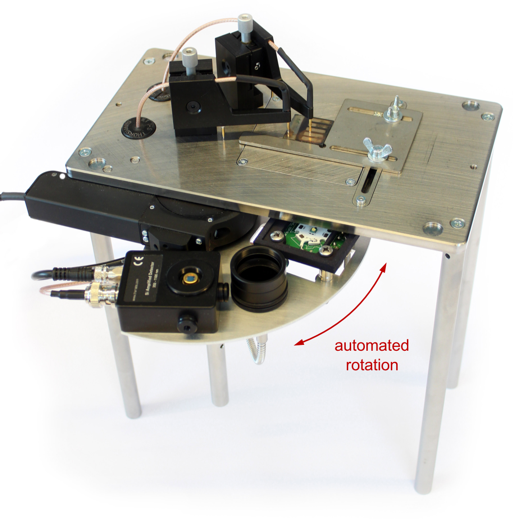 paios_automated_measurement_table_with_perovskites_solar_cell