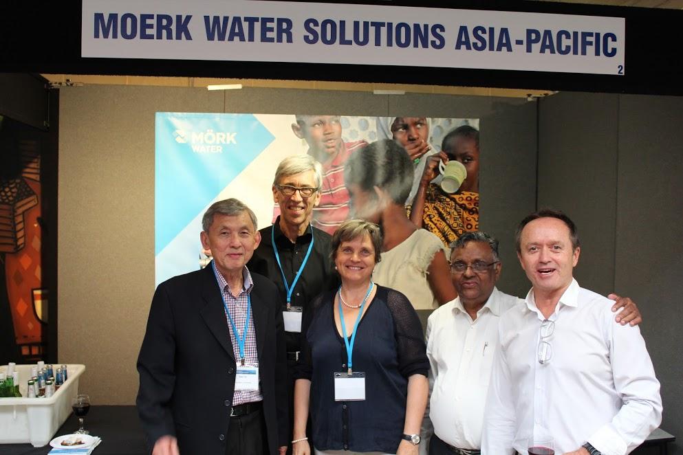 Prof. Goen Ho, Martin and Barbara Brezger, Dr Kuruvilla Mathew, Dr Martin Anda, Murdoch University