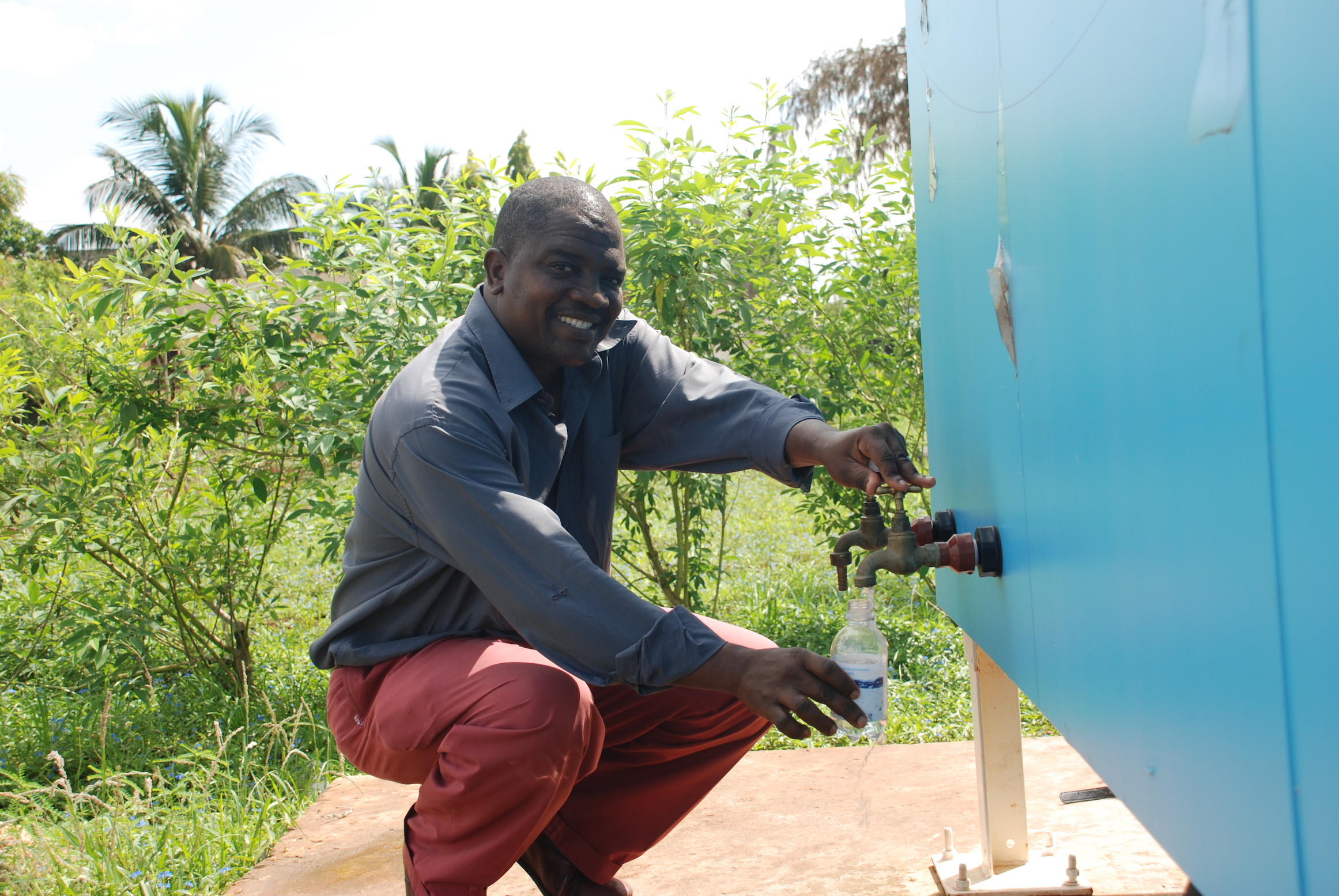 Kokota's solar-powered desalination plant