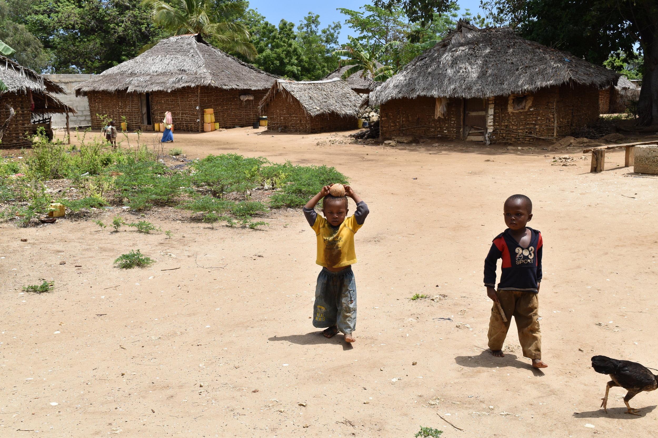 Kokota village children