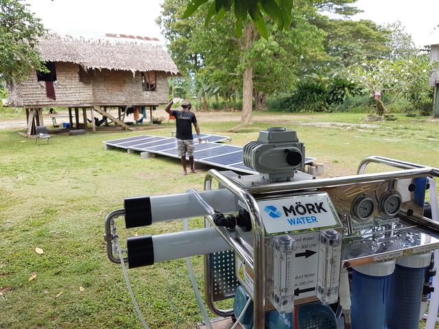 Solomon Islands village receives clean water