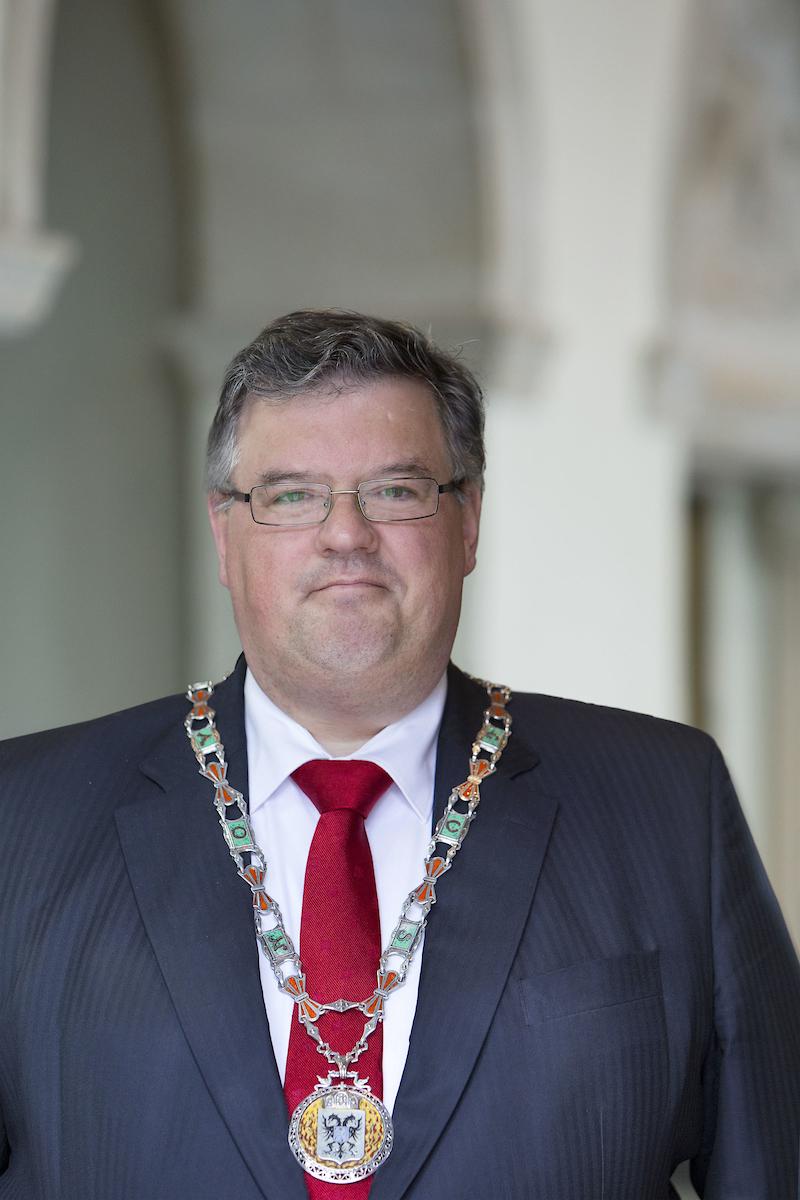 Ordfører Hubert Bruls.