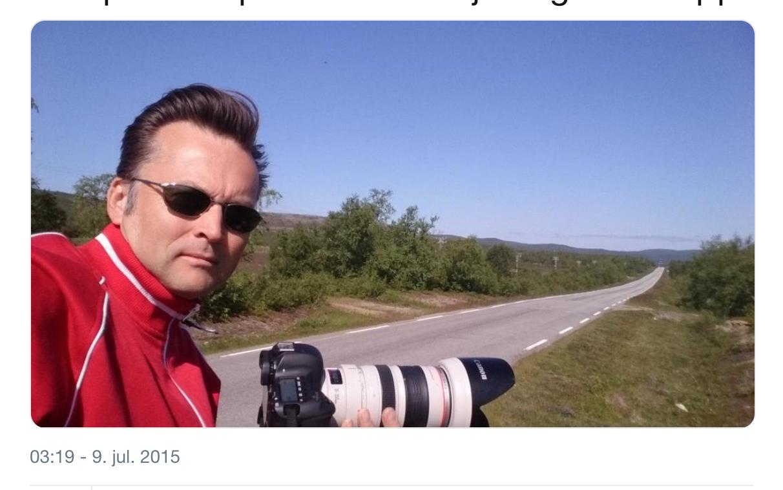 Skjermdump Twitter Hilberg Ove Johansen