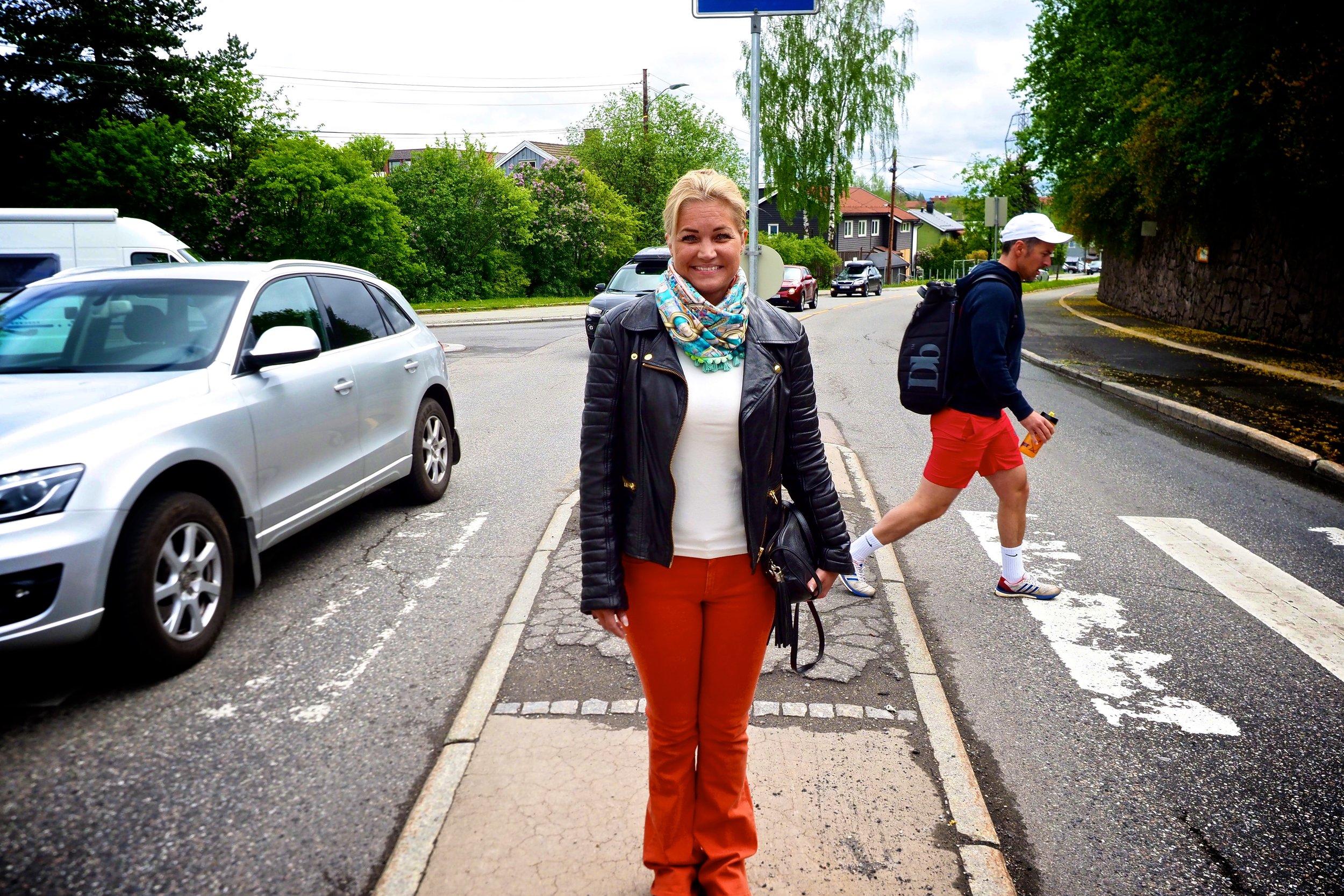 """Cecilie Lyngby driver FB-gruppen """"Ja til miljø - nei til bompenger!"""". Hennes innbyggerforslag gadd ikke politikerne å behandle."""