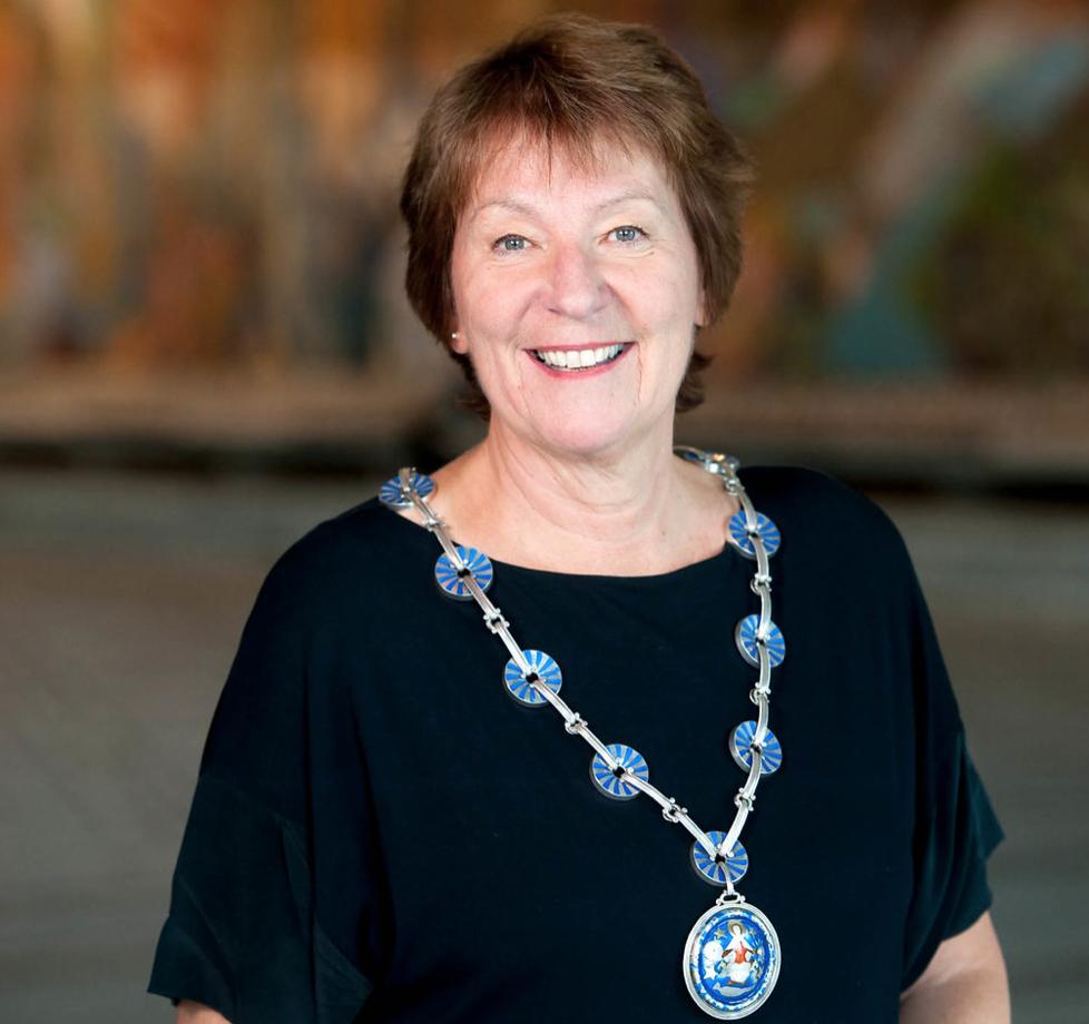 SV-ordfører Marianne Borgen. Foto Sturlason.