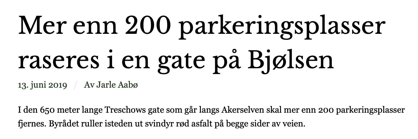 http://jatilbilenioslo.no/nyheter/mer-enn-200-parkeringsplasser-raseres-i-en-gate-p-bjlsen