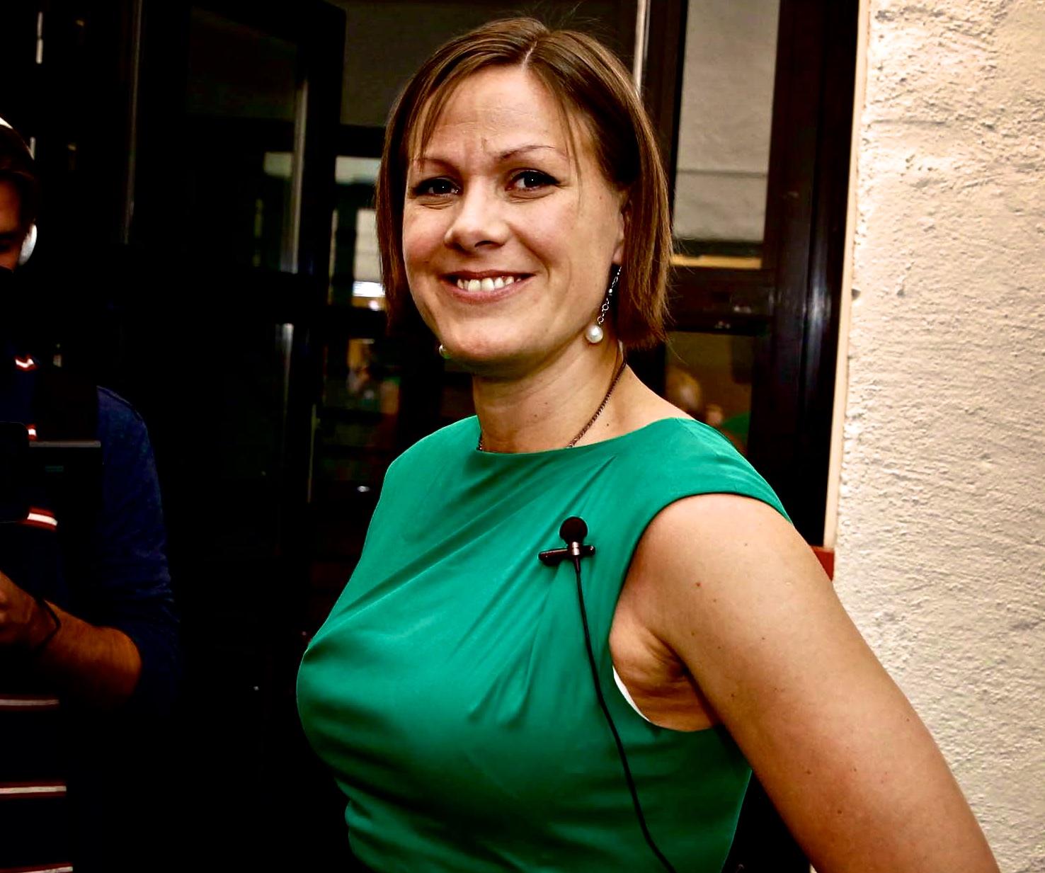 Byråd Hanna Elise Marcussen (MDG).