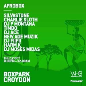 AfroBox, Boxpark Croydon
