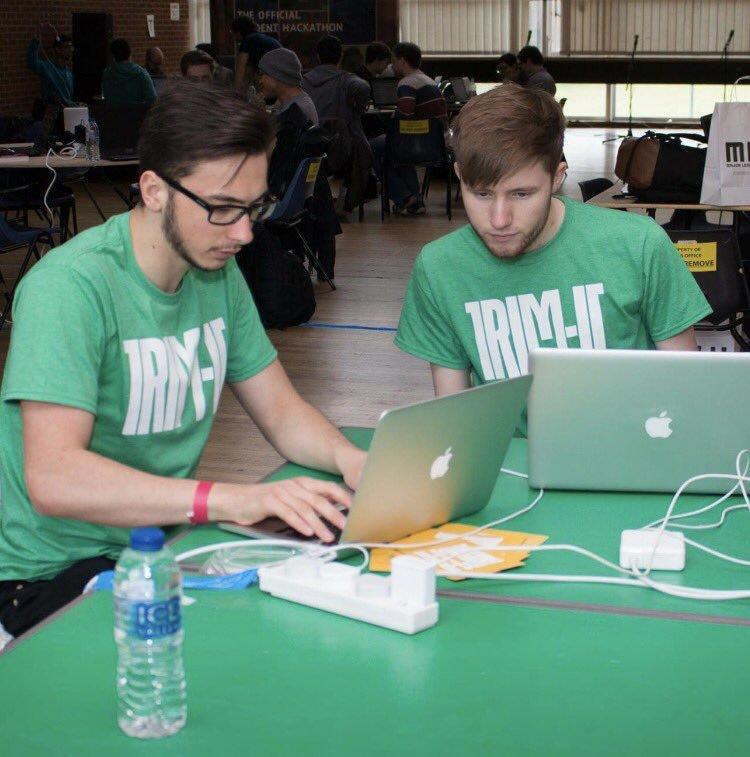 Photo: Trim-It team in action!