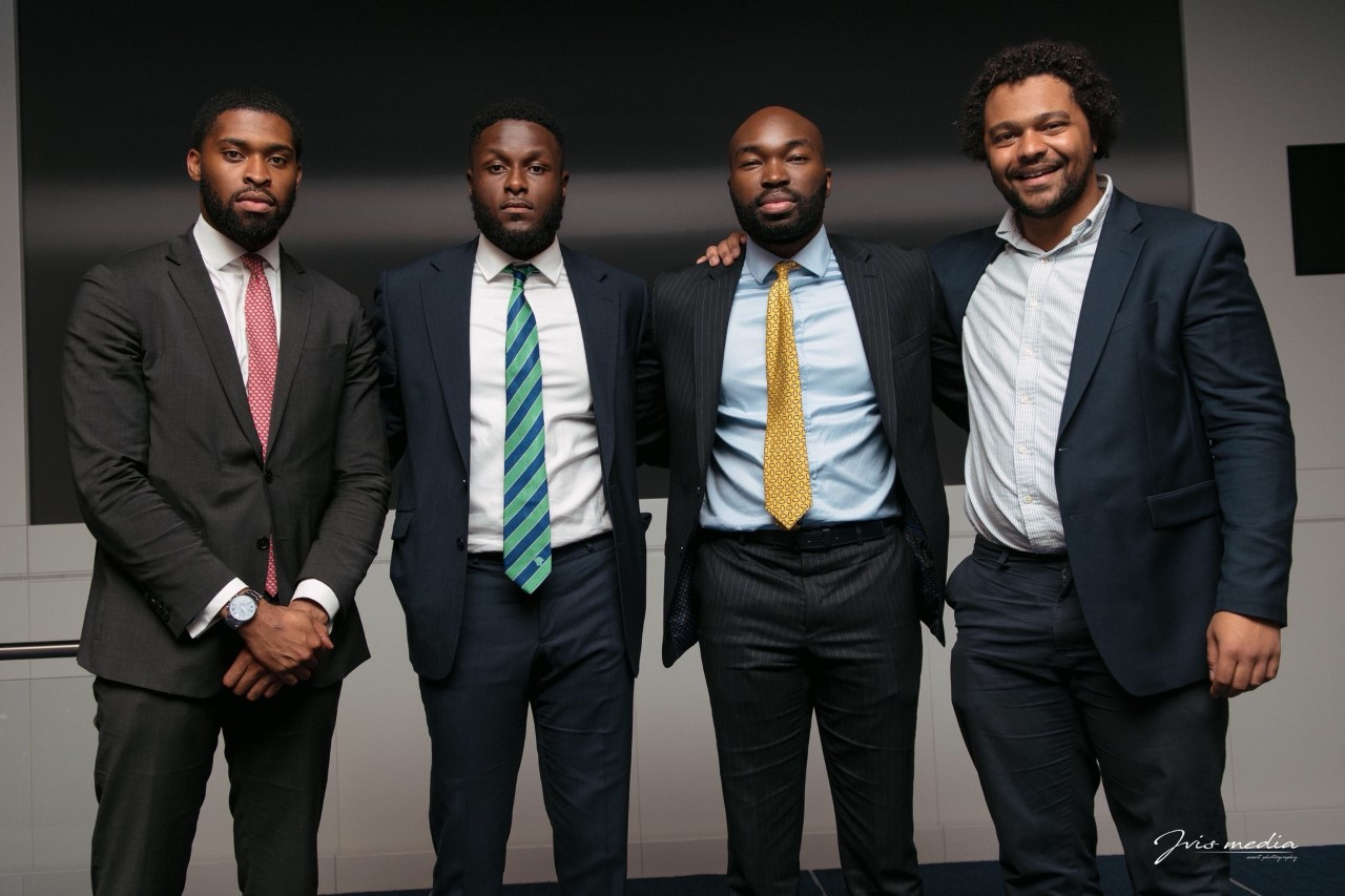 Image: Black Excellence, the Capital Moments team