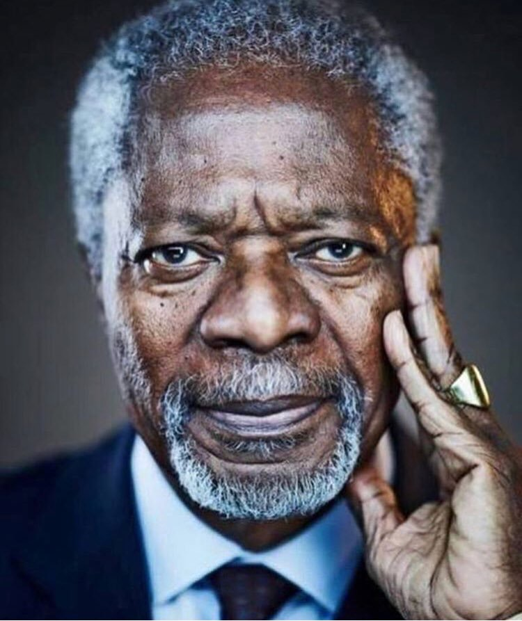 The now late Kofi Annan - Source:  Face2Face Africa