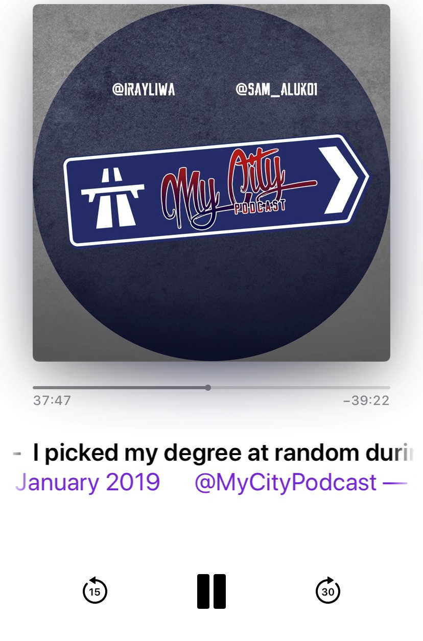 Podcast: MyCityPodcast - Subscribe and leave them a review!