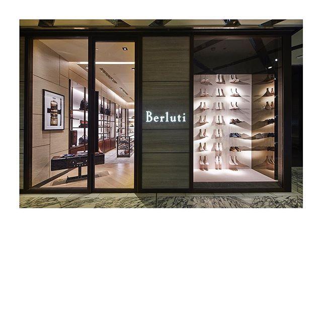 Berluti x N17 store art direction . . . #berluti #sydney #dubai #macau #xian
