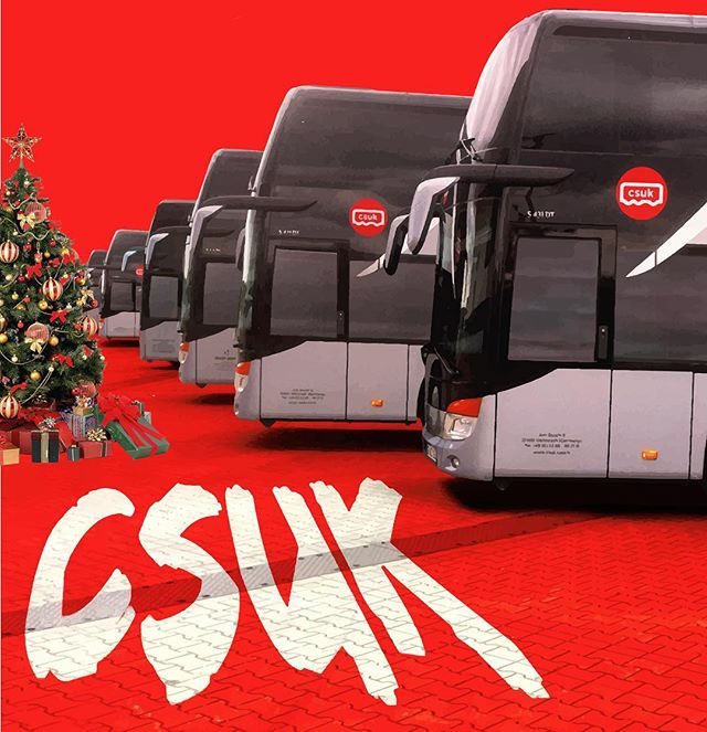 Happy Holidays on behalf of CSUK and all of our drivers. Bring on 2019! 🎄