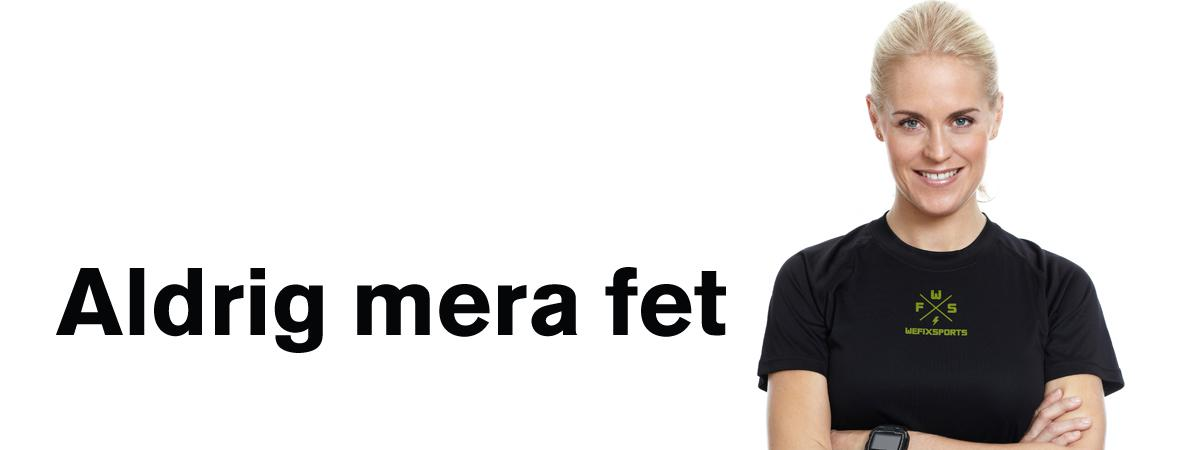 """Erika Rosenbaum som programledare och coach i programmet """"Aldrig mera fet"""" TV 3"""