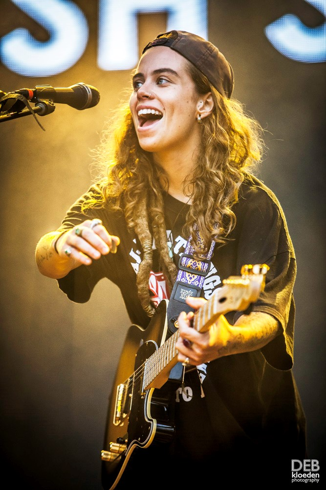 Multi Talented Tash Sultana as brilliant as ever at Groovin The Moo