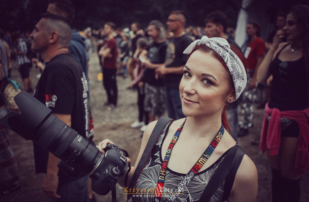 Concert Photographer  Anett Olimpia  at the Pol'and Rock Festival