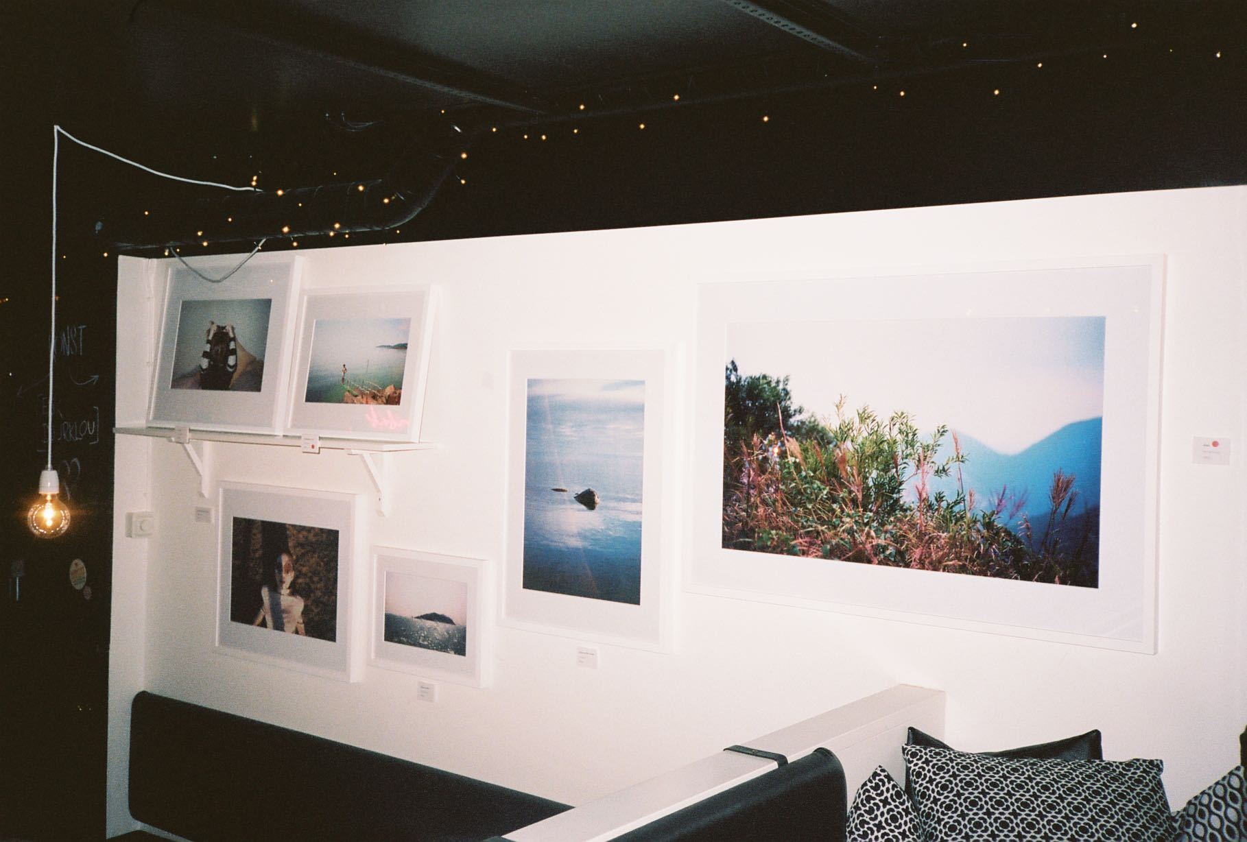 Pictures from Eriks solo exhibition 'A better place' in Stockholm, Sweden. May 2017
